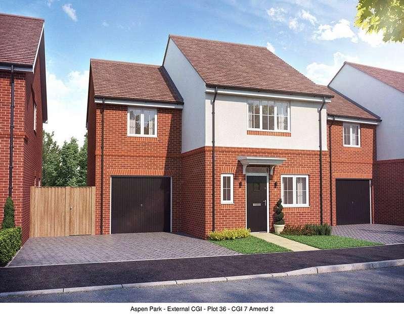 3 Bedrooms Detached House for sale in Aspen Park, Haddenham, Aylesbury, Buckinghamshire, HP17