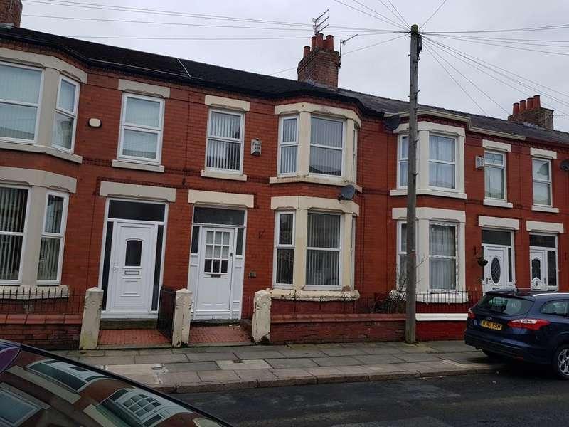 2 Bedrooms Terraced House for rent in Jonville Road, Aintree, Liverpool, Merseyside, L9 9BQ