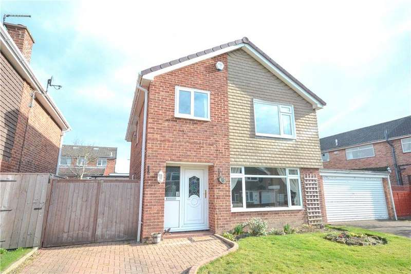 4 Bedrooms Detached House for sale in Wainstones Drive, Great Ayton, Middlesbrough