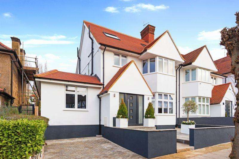 5 Bedrooms Semi Detached House for sale in Dunstan Road, London NW11
