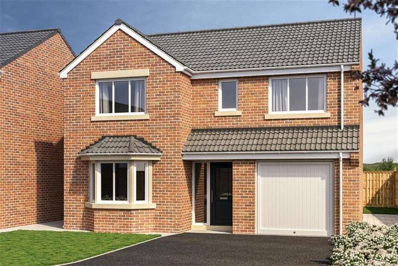 4 Bedrooms Detached House for sale in Avalon Rise, South Elmsall, Pontefract, WF9