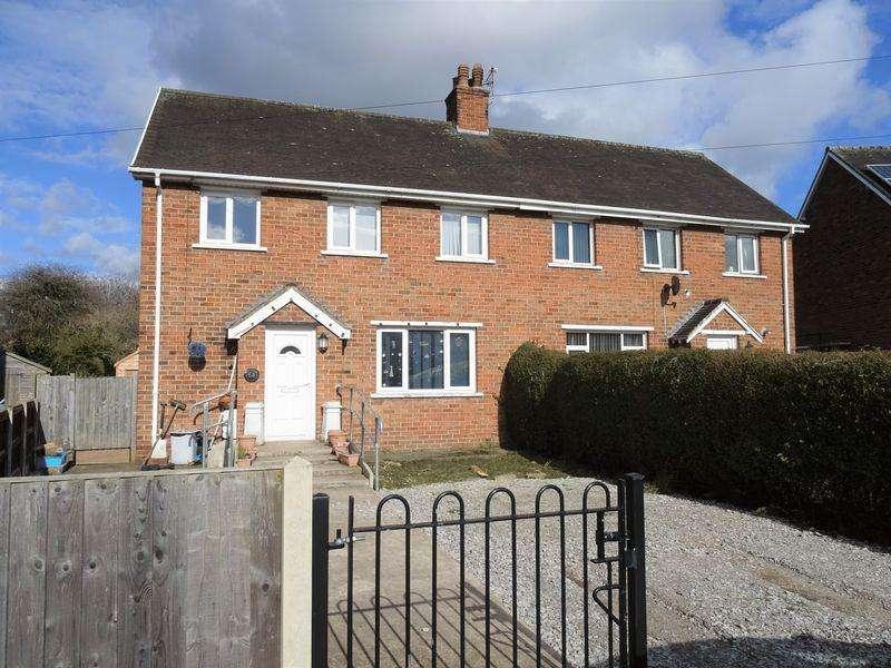 3 Bedrooms Semi Detached House for sale in Eldon Grove, Wrexham