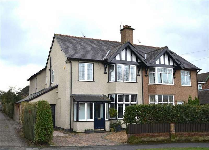 4 Bedrooms Semi Detached House for sale in Heath Lane, Little Sutton, CH66