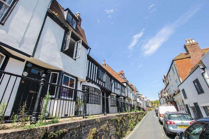 4 Bedrooms Terraced House for sale in High Street, Hastings, East Sussex. TN34 3ES