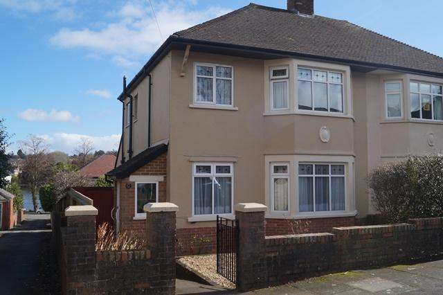 3 Bedrooms Semi Detached House for sale in Windermere Avenue, Roath Park, Roath Park, Cardiff CF23