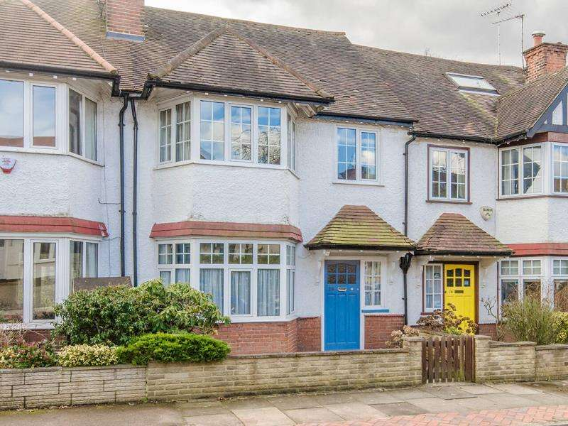 3 Bedrooms Terraced House for sale in Cherry Tree Road, N2