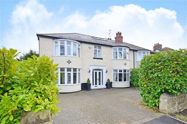 6 Bedrooms Semi Detached House for sale in 77, Whirlowdale Road, Millhouses, Sheffield, S7