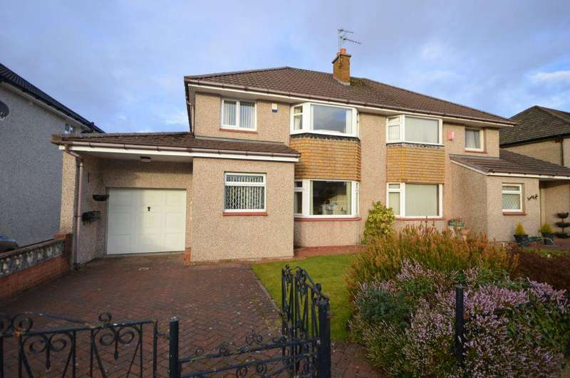 3 Bedrooms Semi Detached House for sale in 30 Muirton Drive, Bishopbriggs, Glasgow, G64 3AS
