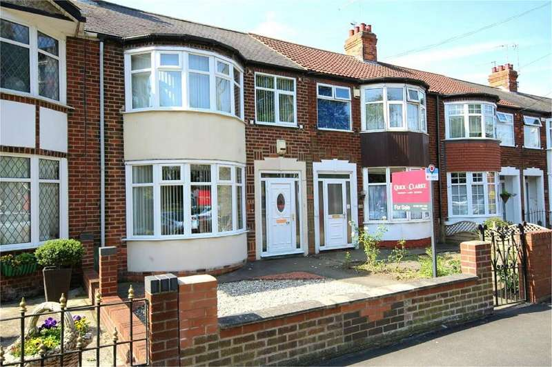 3 Bedrooms Terraced House for sale in Kingston Road, Willerby, Hull, HU10