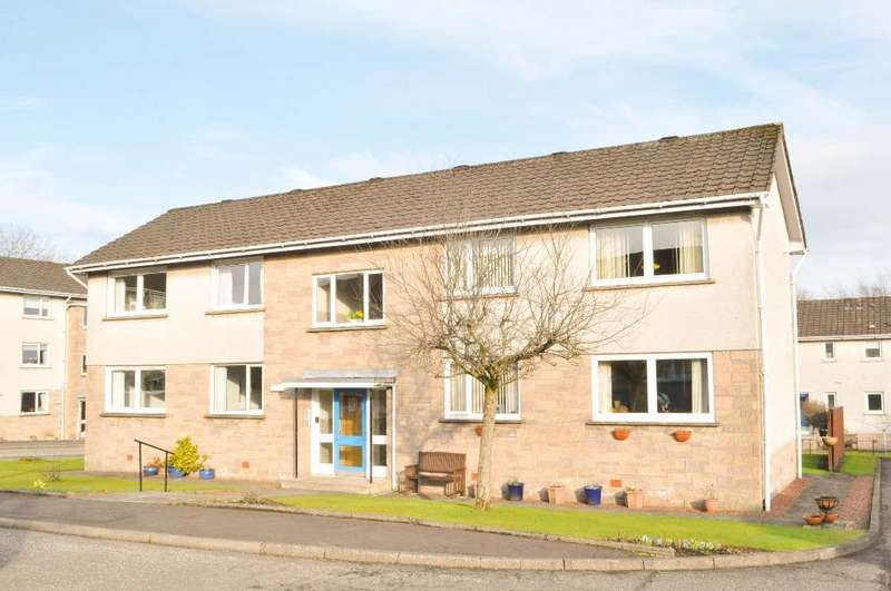1 Bedroom Flat for sale in Queens Court, Milngavie, East Dunbartonshire, G62 6QA