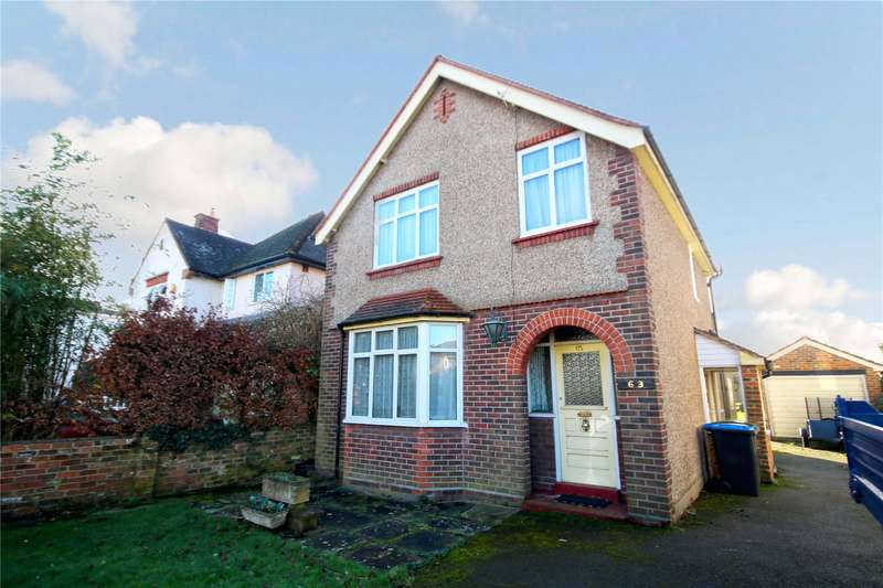 3 Bedrooms Detached House for sale in Grove Road, Chertsey, Surrey, KT16