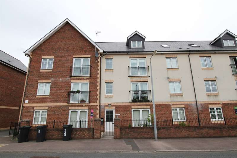 2 Bedrooms Flat for sale in Tregwilym Road, Rogerstone, Newport