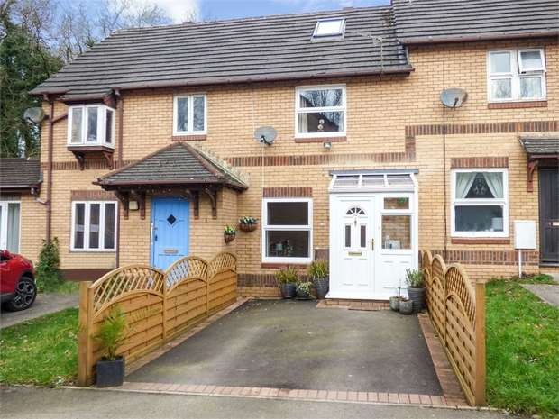 3 Bedrooms Terraced House for sale in Clos Y Dyfrgi, Thornhill, Cardiff, South Glamorgan