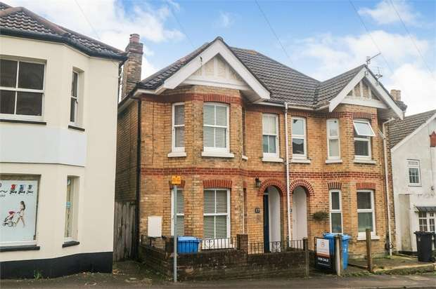 3 Bedrooms Semi Detached House for sale in Mansfield Road, Poole, Dorset
