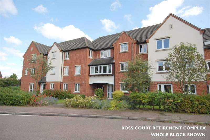 1 Bedroom Flat for sale in Curie Close, RUGBY, Warwickshire
