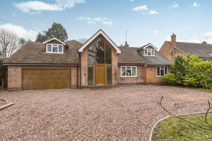 5 Bedrooms Detached House for sale in Norley Road, Cuddington, Northwich, Cheshire