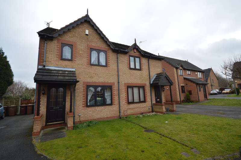 3 Bedrooms Semi Detached House for sale in Greenside Park, New Crofton, Wakefield