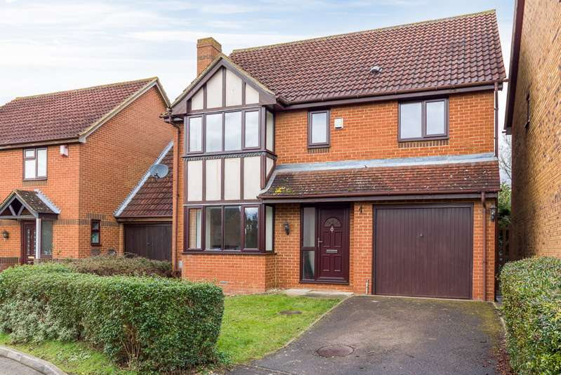 4 Bedrooms Detached House for rent in Chalfont Close, Bradville MK13