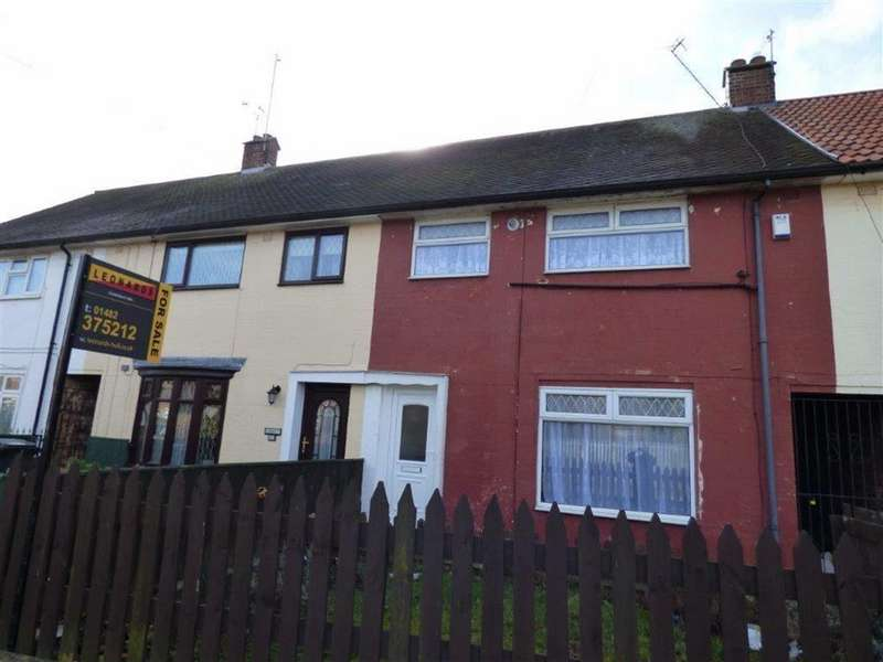3 Bedrooms Terraced House for sale in Wansbeck Road, Hull, East Yorkshire, HU8