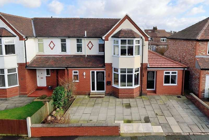 3 Bedrooms Semi Detached House for sale in Norcott Avenue, Stockton Heath, Warrington