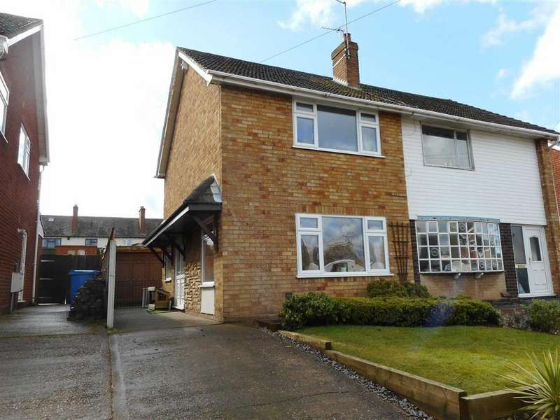 2 Bedrooms Semi Detached House for rent in Brooklands Avenue, Great Wyrley, Walsall