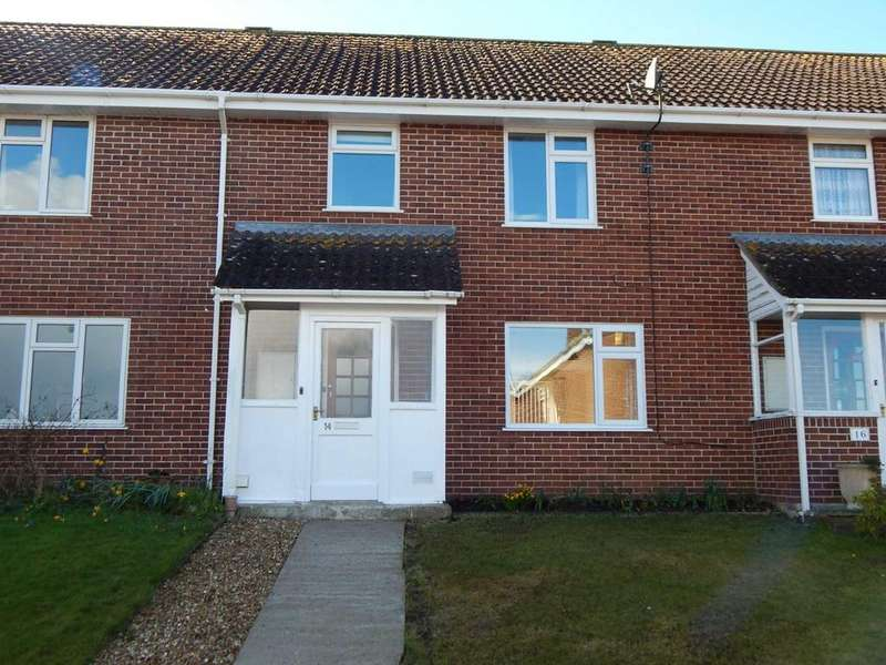 3 Bedrooms Terraced House for sale in Castle View, Colyton