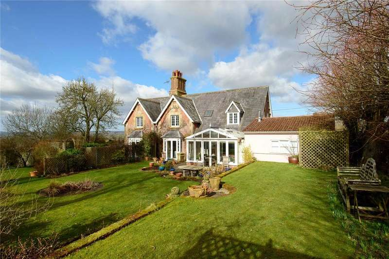 5 Bedrooms Detached House for sale in Sedgehill, Shaftesbury, Wiltshire, SP7