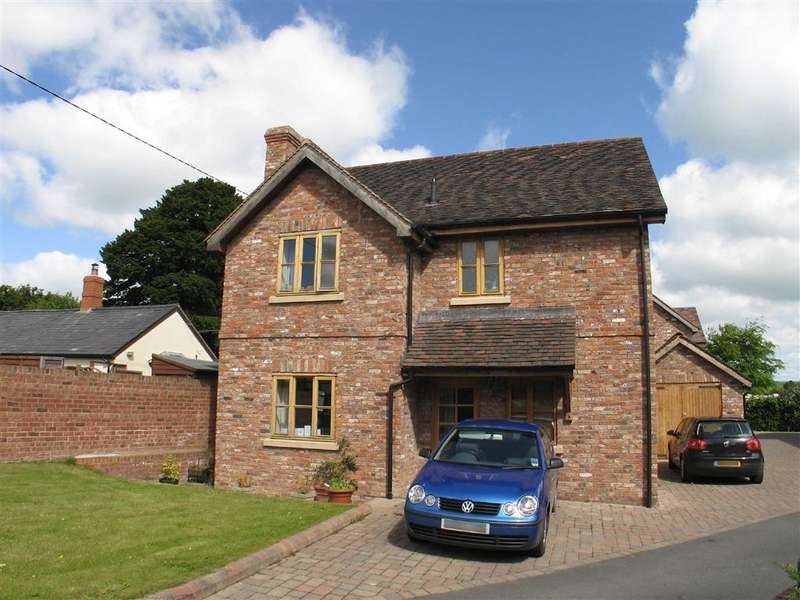 3 Bedrooms Detached House for sale in Millstone Cottage, Luston, Leominster, Herefordshire, HR6
