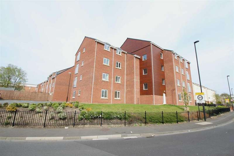 2 Bedrooms Apartment Flat for sale in White Swan Close, Newcastle Upon Tyne