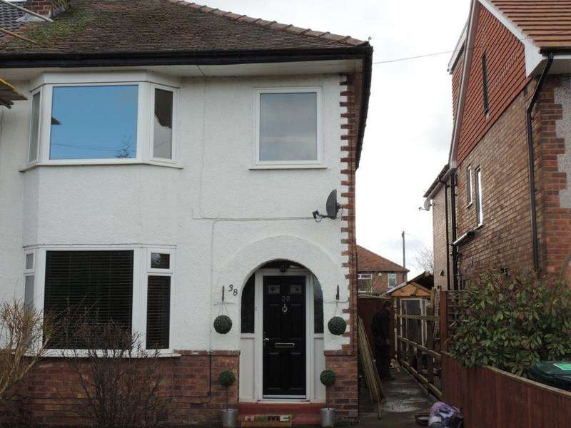 3 Bedrooms Semi Detached House for rent in Chester Road, Huntington