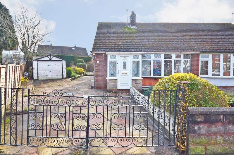 2 Bedrooms Semi Detached Bungalow for sale in Weston Coyney Road, ST3 5HY