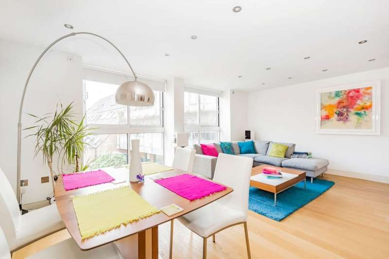 2 Bedrooms Flat for sale in Lower Marsh, London, SE1