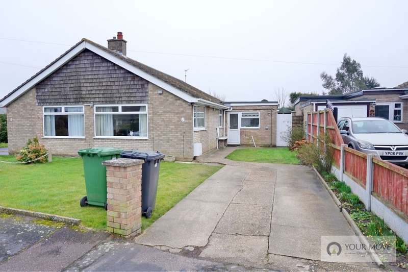 3 Bedrooms Semi Detached Bungalow for sale in Hawthorn Crescent, Bradwell, Great Yarmouth, NR31