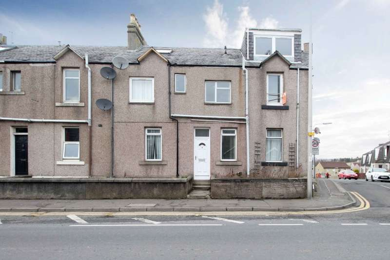 1 Bedroom Ground Flat for sale in Dunfermline Road, Crossgates, Dunfermline, KY4 8AS