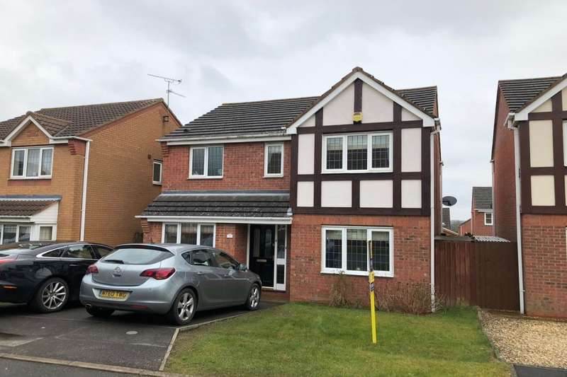 4 Bedrooms Detached House for rent in Denne Close, Corby, NN18
