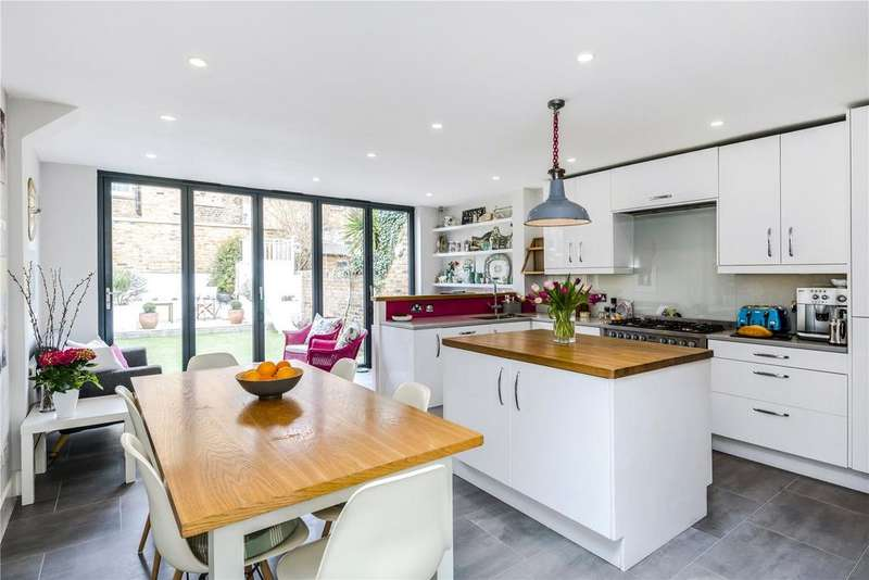 5 Bedrooms Terraced House for sale in Chaldon Road, Munster Village, Fulham, SW6