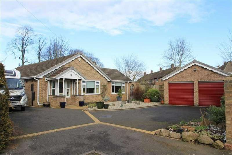 3 Bedrooms Detached Bungalow for sale in Laurel Close, Glenfield, Leicester