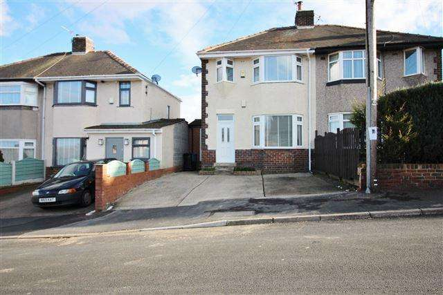 3 Bedrooms Semi Detached House for sale in Lathkill Road , Sheffield, S13 8DJ