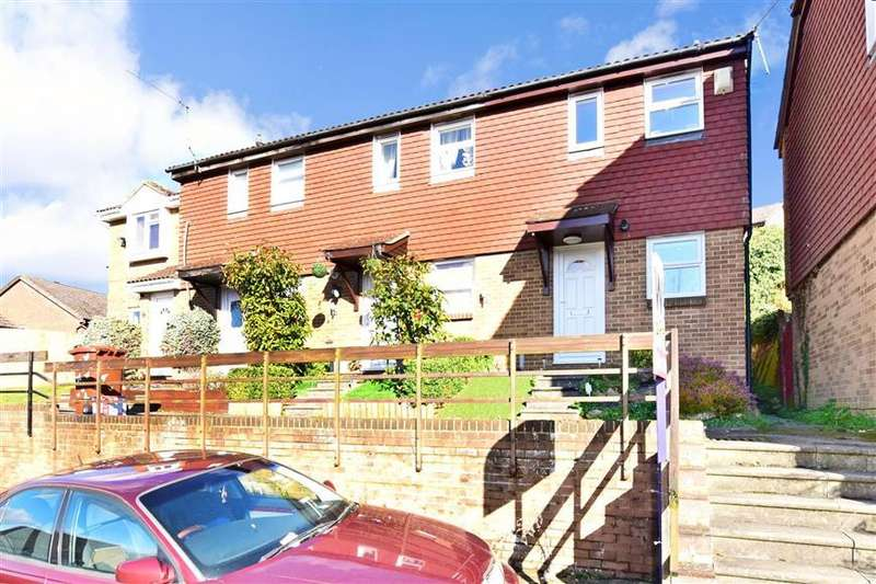 2 Bedrooms End Of Terrace House for sale in Winchelsea Road, Walderslade, Chatham, Kent
