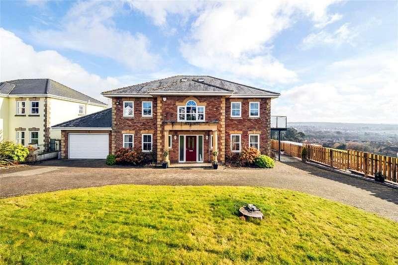 5 Bedrooms Detached House for sale in All Saints Way, Pen-y-Fai, Bridgend, Mid Glamorgan, CF31