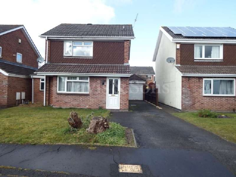 3 Bedrooms Detached House for sale in Nash Close, Fourteen Locks, Rogerstone . NP10 0DE