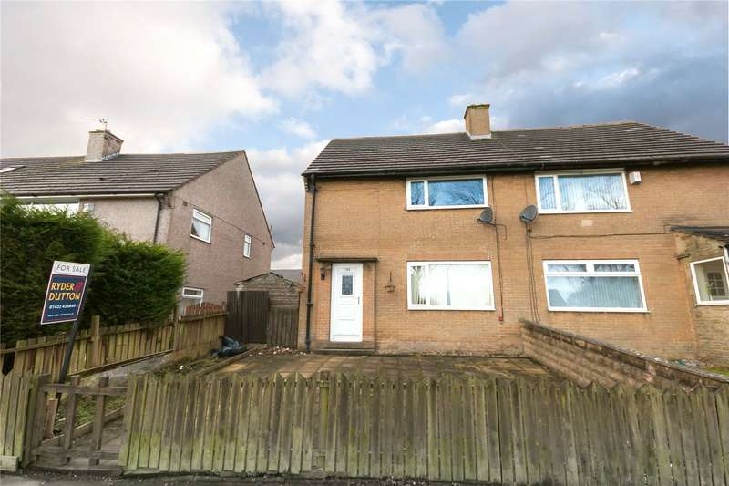 3 Bedrooms Semi Detached House for sale in Cousin Lane, Ovenden, HALIFAX, West Yorkshire, HX2