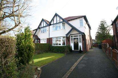3 Bedrooms Detached House for sale in Earle Road, Bramhall, Cheshire