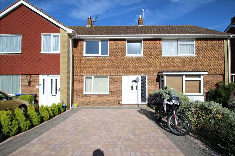 3 Bedrooms Terraced House for sale in Dankton Gardens, Sompting, West Sussex, BN15