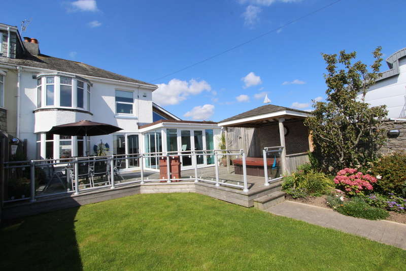 4 Bedrooms Semi Detached House for rent in Marine Drive, Torpoint