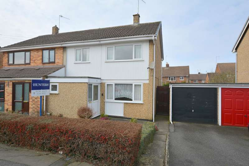 3 Bedrooms Semi Detached House for sale in Calver Crescent, Staveley, Chesterfield, S43 3LZ