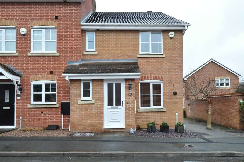 3 Bedrooms End Of Terrace House for sale in Wheatcroft Close, Redditch, B97
