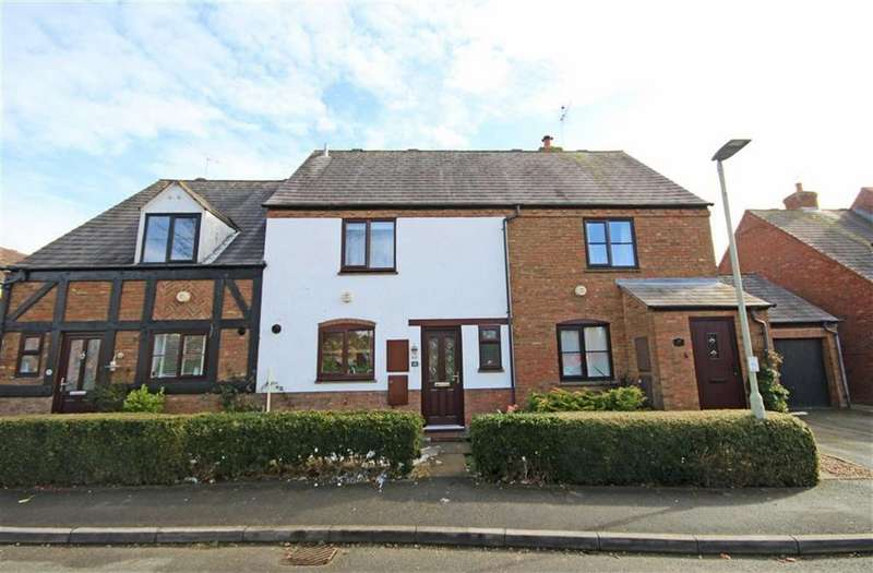 3 Bedrooms Terraced House for sale in Grange Drive, Bishops Cleeve, Cheltenham, GL52