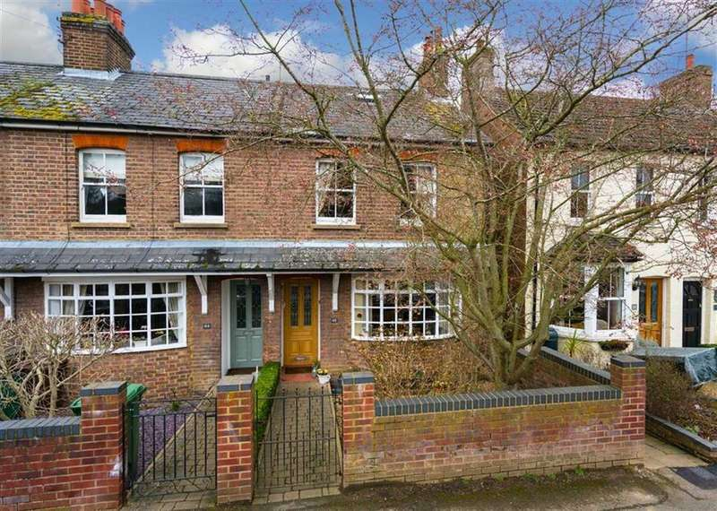 3 Bedrooms End Of Terrace House for sale in Willoughby Road, Harpenden, Hertfordshire