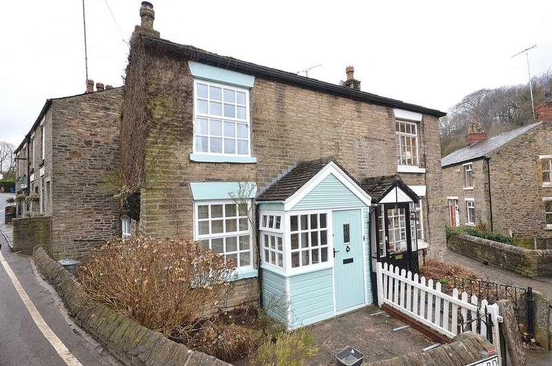 2 Bedrooms Semi Detached House for rent in Town Street, Marple Bridge